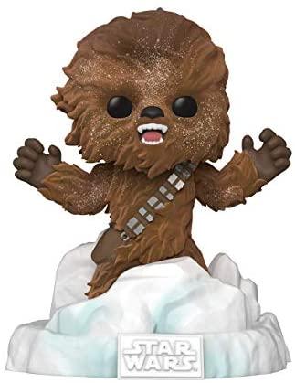 Funko Pop! Deluxe Star Wars: Battle at Echo Base Series - Flocked Chewbacca Vinyl Figure, Amazon Exclusive, Figure 3 of 6