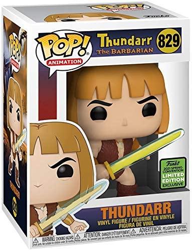 Pop Animation Thundarr The Barbarian 3.75 Inch Action Figure Exclusive - Thundarr #829