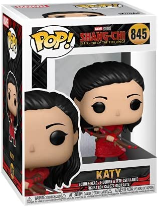 Funko Pop! Marvel: Shang Chi and The Legend of The Ten Rings - Katy with Bow