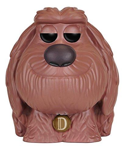 Funko POP Movies: Secret Life of Pets Action Figure - Duke,Brown/a