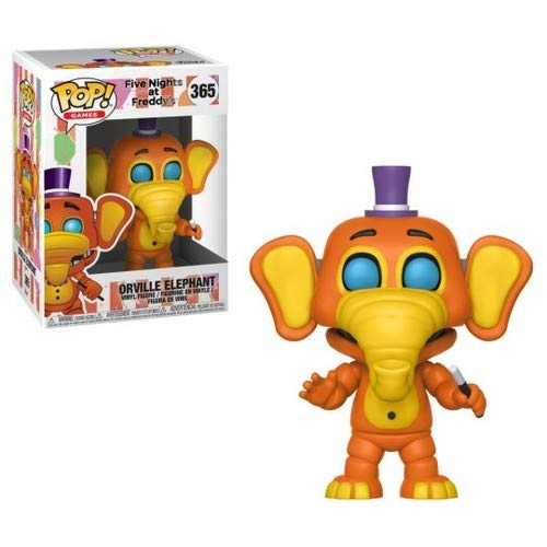 Funko Pop Games: Five Nights at Freddy's Pizza Simulator - Orville Elephant Collectible Figure, Multicolor