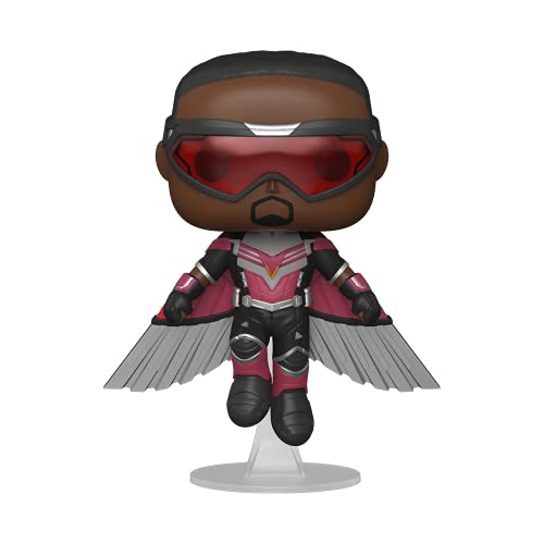 Funko Pop! Marvel: The Falcon and The Winter Soldier - Falcon (Flying) Vinyl Collectible Figure Multicolor ,3.75 inches