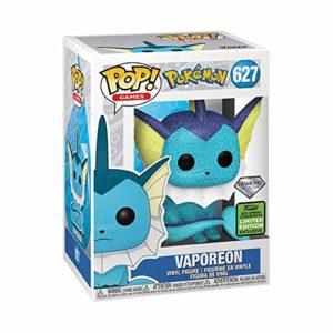 Funko Pop! Games Pokemon Vaporeon 627 Diamond Collection (B&N Shared Exclusive)