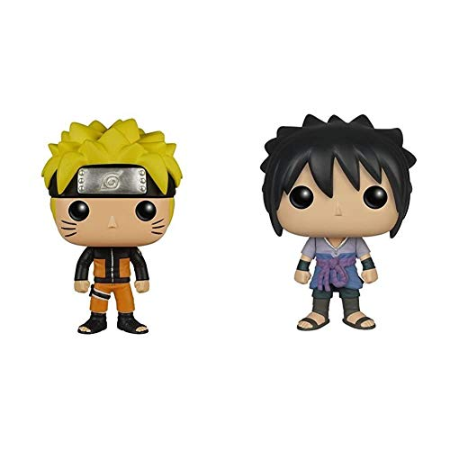 Funko POP Anime: Naruto Naruto Action Figure & POP Anime: Naruto Sasuke Action Figure