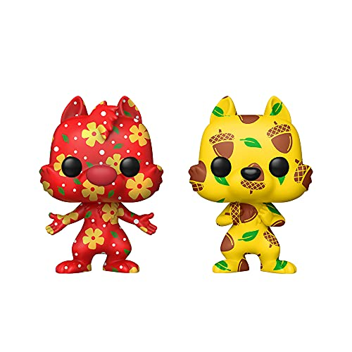 Funko Pop! Artist Series: Disney Treasures of The Vault - Chip & Dale (2 Pack), Amazon Exclusive ,3.25 inches