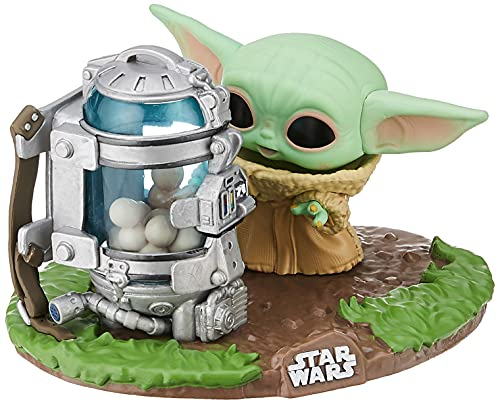 Funko Pop! Deluxe Star Wars: The Mandalorian - The Child with Canister