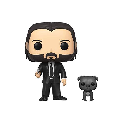Funko Pop! Movies: John Wick - John in Black Suit with Dog Buddy