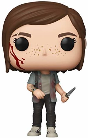 Funko Pop! Games: The Last of Us Part II - Ellie, Multicolor, 3.75 inches