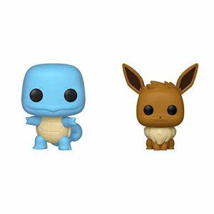 Funko Pop!: Pokemon - Squirtle, Multicolor & Pop! Games: Pokemon - Eevee