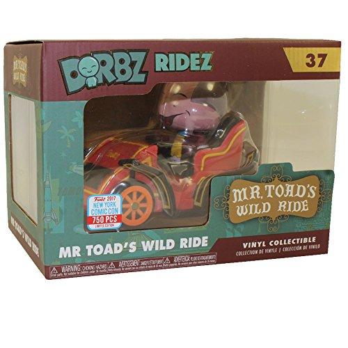 2017 NYCC Exclusive Dorbz Ridez - Mr. Toad's Wild Ride with NYCC Sticker