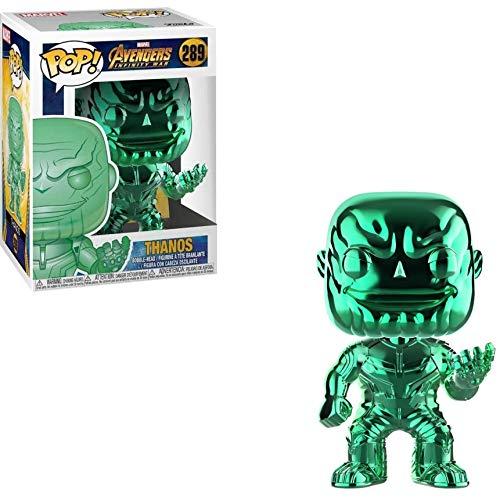 Avengers Funko POP Marvel: Infinity War - Thanos - Green Chrome - Walmart Exclusive