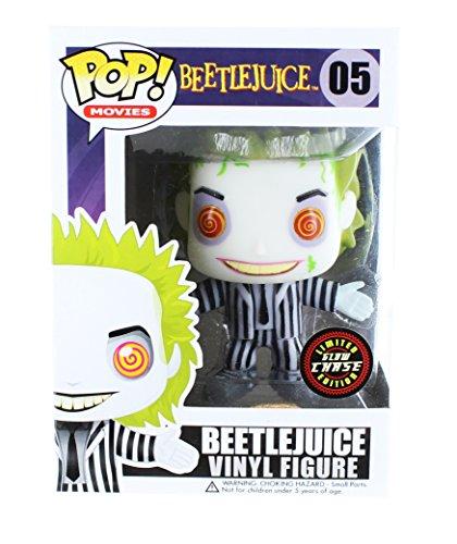 Beetlejuice Funko POP Vinyl Figure: Beetlejuice (Glow in the Dark Chase Variant)