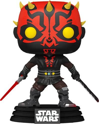 Darth Maul #450 (with Darksaber and Lightsaber) Chalice Collectibles Funko Pop Star Wars Clone Wars