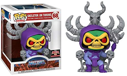 Deluxe: Master's of The Universe - Skeletor on Throne Pop! Figure Exclusive 68