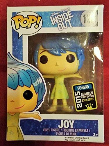 Disney Pixar Inside Out #132 Joy Pop Figurine 2015 Summer Convention Exclusive by FunKo