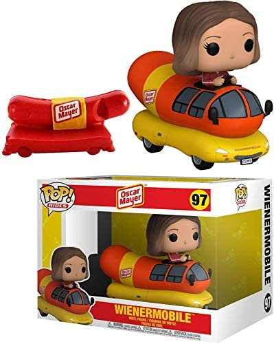 Double Dog Weinermobile Pop! Figure Rides Ad Icons Character Oscar Mayer bungled with Whistle Promo 2 Items
