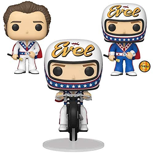 Evel Knievel Complete Set (3) w/Chase Funko Pop!