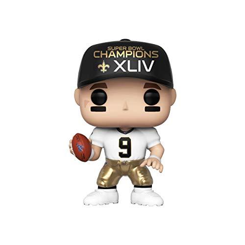 FUNKO POP! NFL: Saints - Drew Brees (SB Champions XLIV)