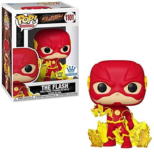 FUNKO POP! The Flash Glow in The Dark #1101 FUNKO Shop Exclusive