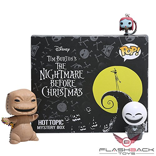 FUNKO THE NIGHTMARE BEFORE CHRISTMAS EXCLUSIVE PULL BOX