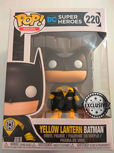 Figure POP DC Comics Yellow Lantern Batman Exclusive