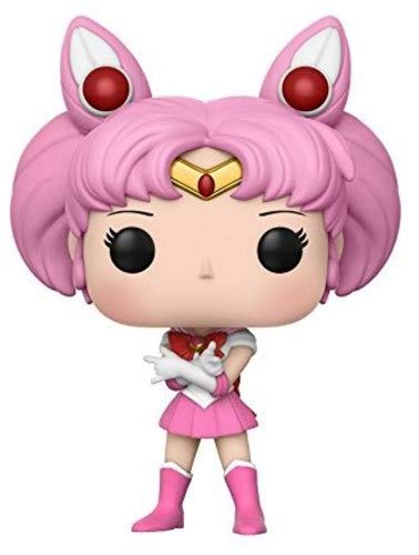 Funko 13753-PX-1U3 Pop Anime: Sailor Moon - Chibi Moon Collectible Vinyl Figure, Standard, Pink