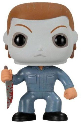 Funko 2296 Pop Movies: Halloween - Michael Myers Action Figure Blue, Standard