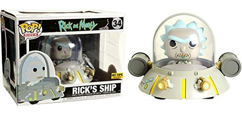 Funko 23811 Ship POP Vinyl Rick and Morty S1, Multi