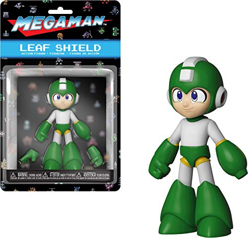 Funko 34819 Action Figure: Mega Man (Leaf Shield) Styles May Vary, Multicolor