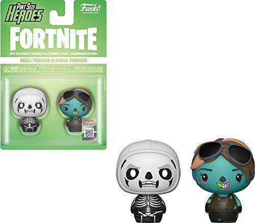 Funko 38034 Pint Size Heroes: FortniteSkull Trooper & Ghoul Trooper 2 Pack, Multicolor