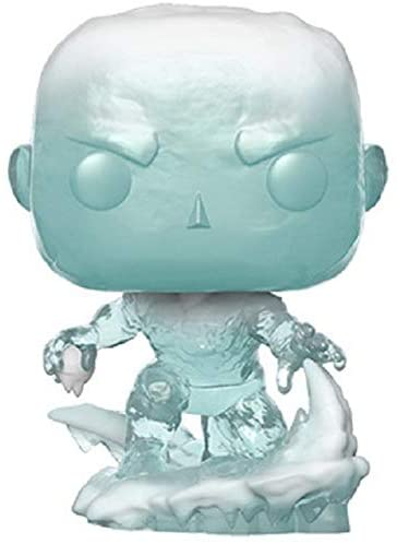 Funko 40717 POP. Bobble Marvel: 80th-First Appearance-Iceman Collectible Figure, Multicolour, us one-Size