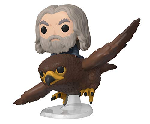 Funko 40869 POP Rides: Lord of The Rings-Gwaihir with Gandalf Hobbit Collectible Figure, Multicolour
