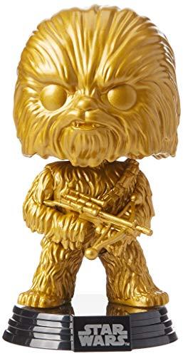 Funko 43023 POP Star Wars: Chewbacca (GP) (MT) Collectible Figure, Multicolour