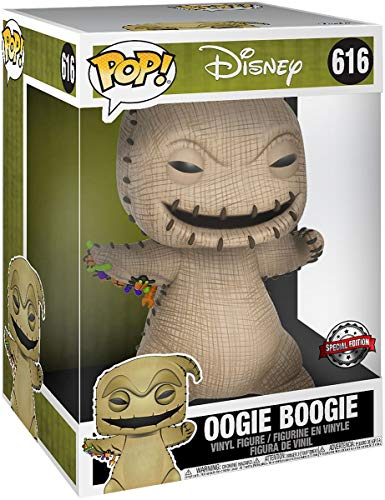 Funko 43799 POP Nightmare Before Christmas-10 Disney-Other Oogie Boogie Collectible Figure, Multicolour