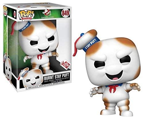 Funko 44471 POP Movies: Ghost Busters-10 Ghostbusters Burnt Stay Puft Collectible Figure, Multicolour