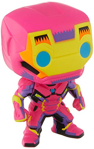 Funko 48846 Marvel Black Light Iron Man Collectable Toy, Multicolour