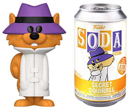 """Funko 52214 Vinyl SODA! 4.25"""" Hanna-Barbera Secret Squirrel Collectible Toy with Possible Random Chase Variant"""