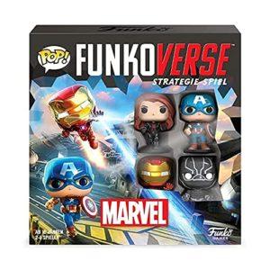 Funko 57519 Funkoverse: Marvel 100 4-Pack German