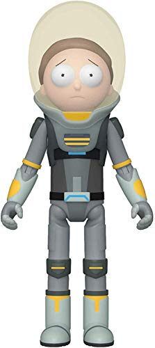 Funko Action Figure: Rick & Morty - Space Suit Morty, 44549,Multicolor,3.75 inches