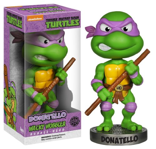 Funko Action Figure Teenage Mutant Ninja Turtles Donatello Wacky Wobbler