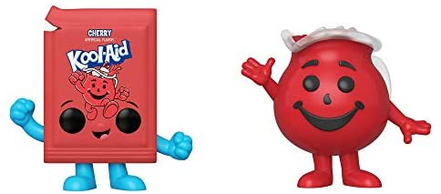 Funko Ad Icons: POP! Kool-Aid Collectors Set - Original Kool-Aid Packet, Kool-Aid Man