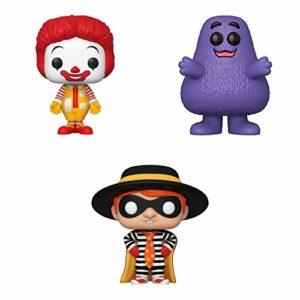 Funko Ad Icons: POP! McDonald's Collectors Set - Ronald McDonald, Grimace, Hamburglar