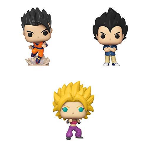Funko Animation: POP! Dragon Ball Super Series 4 Collectors Set - Gohan, Vegeta, Caulifla