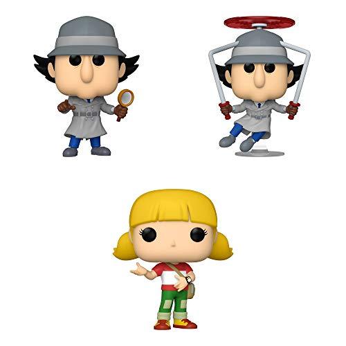 Funko Animation: POP! Inspector Gadget Collectors Set - Inspector Gadget, Inspector Gadget Flying, Penny