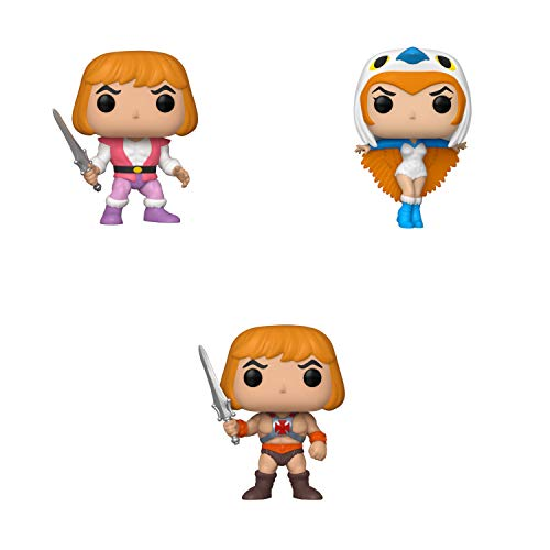 Funko Animation: POP! Masters of The Universe Collectors Set 1 - Prince Adam, Sorceress, He-Man