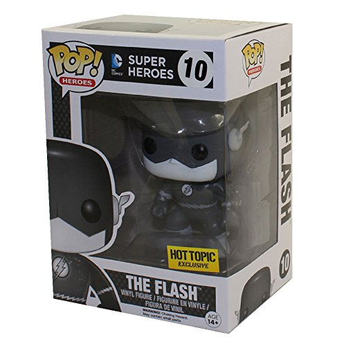 Funko DC Heroes Black and White The Flash Pop Vinyl Exclusive No. 10