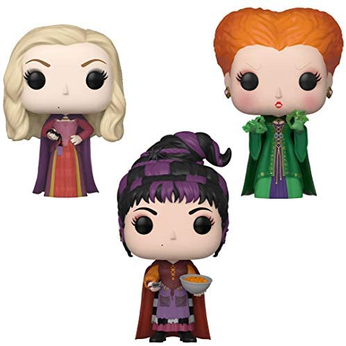 Funko Disney: POP! Hocus Pocus Collectors Set - Sarah with Spider, Winifred with Magic, Mary with Cheese Puffs