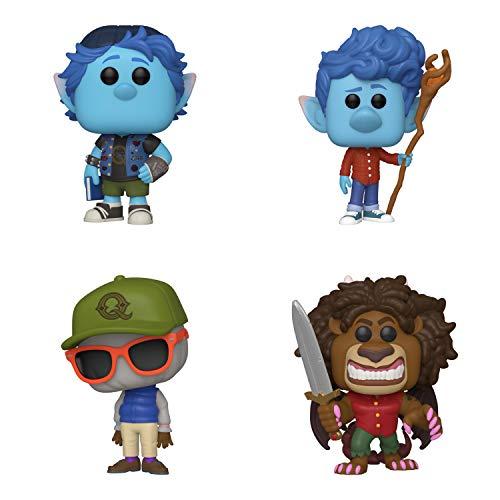 Funko Disney: POP! Onward Collectors Set - Barley Lightfoot, Ian Lightfoot, Wilden Lightfood, Manticore