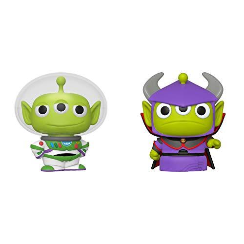 Funko Disney: POP! Pixar Alien Collectors Set 1 - Alien as Buzz, Alien as Zurg