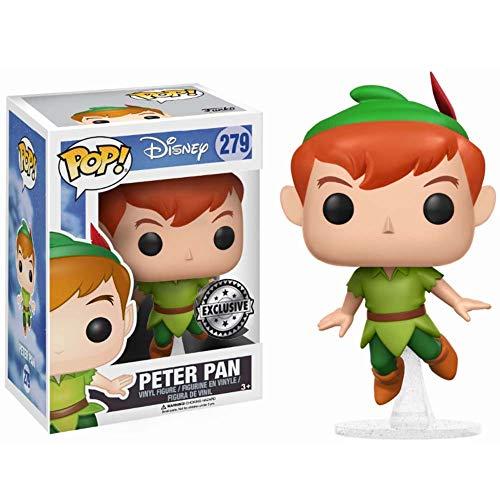 Funko - Disney Pop Vinyl Figure 279 Peter Pan - Limited Edition, 9 cm, 14063